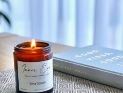 Luxury Amber Apothecary Candle